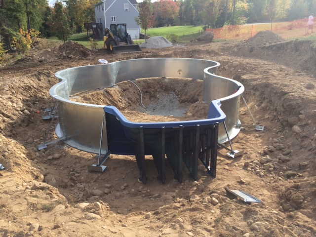 Inground Pool Installation in NH