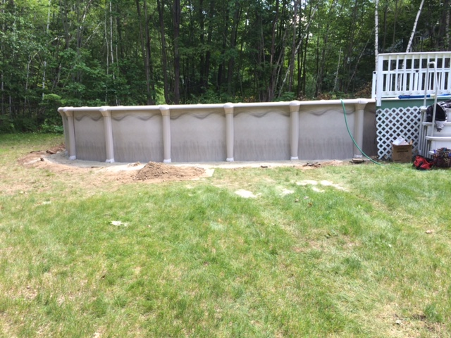 Above Ground Pool Installation in NH
