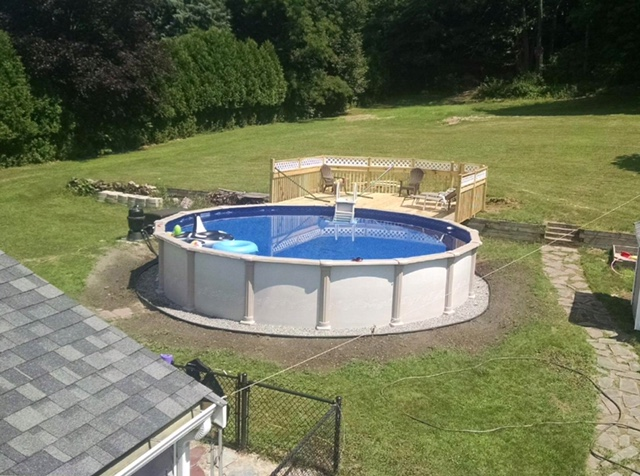 Above Ground Pool in NH