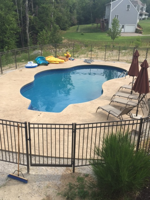 Swimming Pool Installed in NH